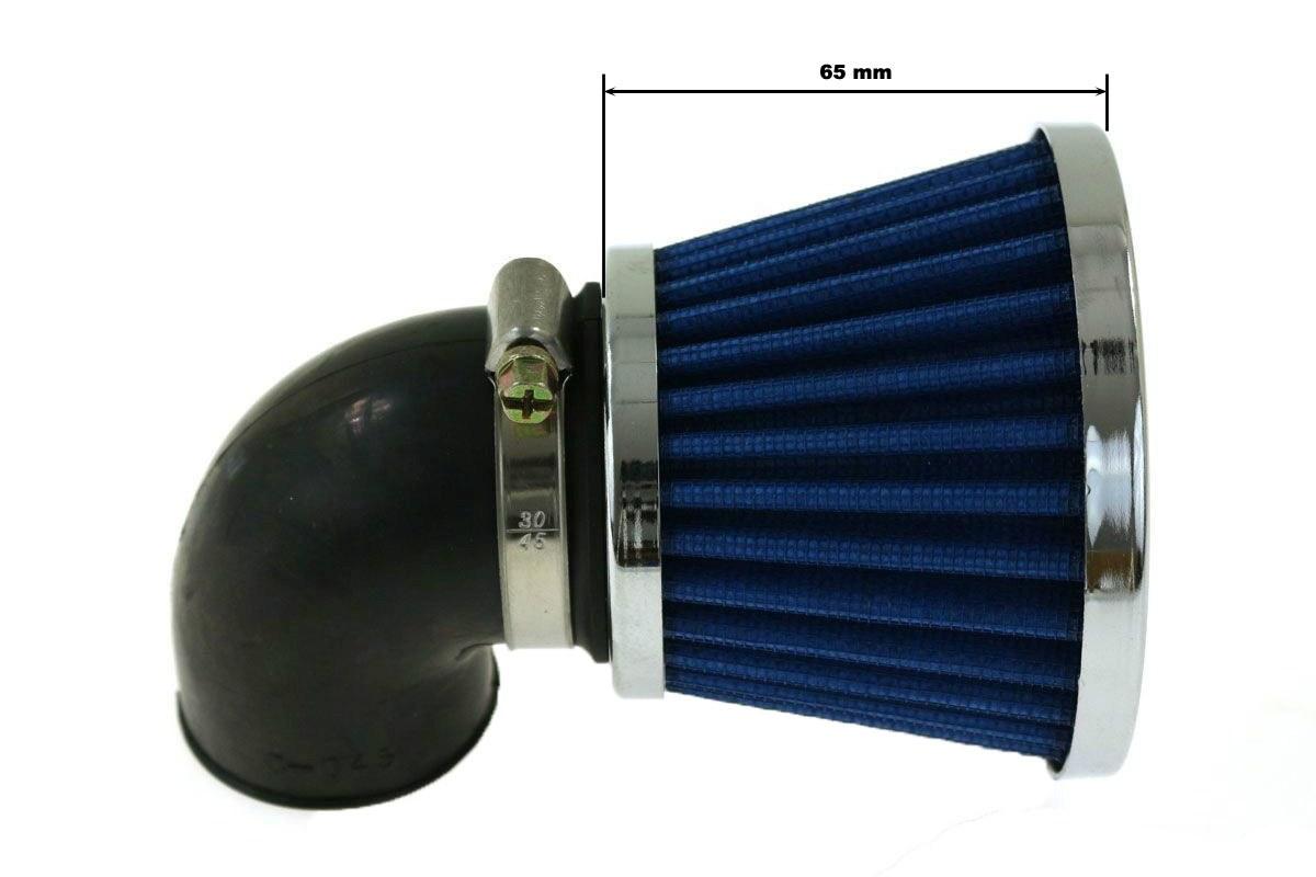 Moto Filtr stożkowy SIMOTA 90st 28mm JS-8209-3 - GRUBYGARAGE - Sklep Tuningowy